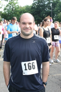 Taken about a month after my first half marathon.
